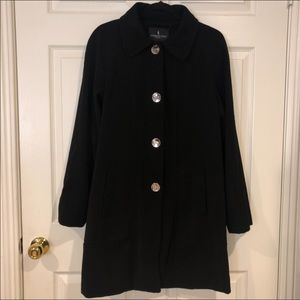 London Fog Button Down Trench Coat